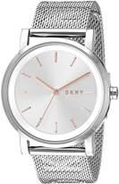 DKNY Women's 34mm Steel Bracelet & Case Quartz -Tone Dial Watch Ny2620