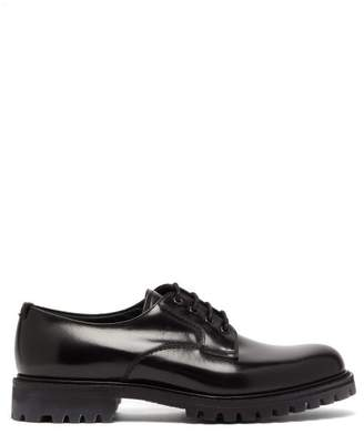 Church's Chester Chunky Sole Leather Derby Shoes - Mens - Black