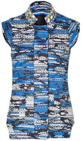 Matthew Williamson Blue-Multi Embroidered Vest