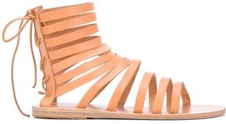 Ancient Greek Sandals Galatia flat sandals