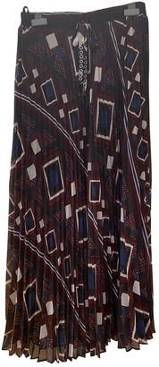 Ikks Multicolour Skirt for Women
