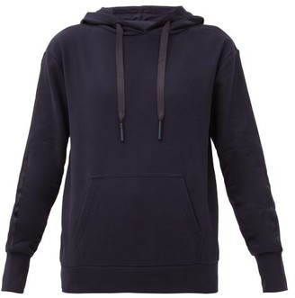 Ernest Leoty Noemie Cotton Hooded Sweatshirt - Navy