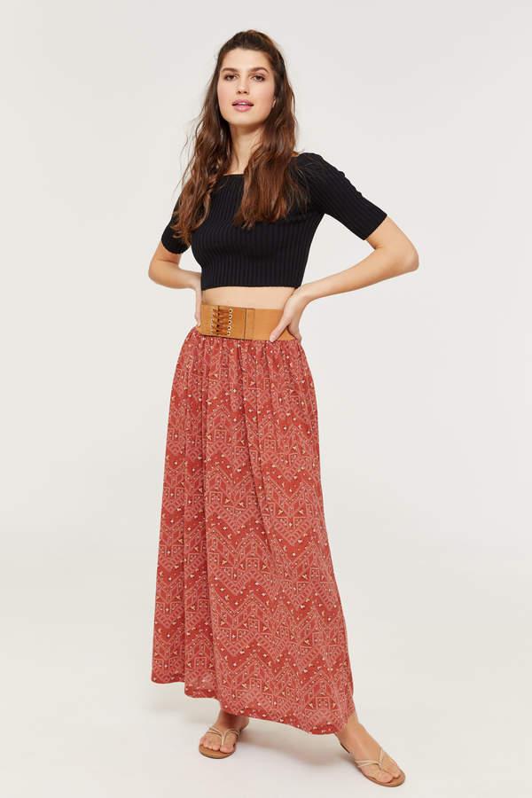 986c31e01 Floral Maxi Skirt - ShopStyle