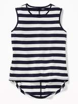 Old Navy Patterned Hi-Lo Muscle Tee for Girls