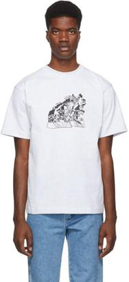 St-Henri SSENSE Exclusive Grey Lorem T-Shirt