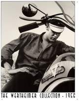 Harley-Davidson Poster Revolution Elvis Presley Motorcycle Wertheimer Collection Retro Vintage Tin Sign - 12x16