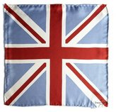 Simon Carter Union Jack Pocket Square Handkerchief