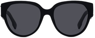 Christian Dior Id2 55MM Oval Sunglasses