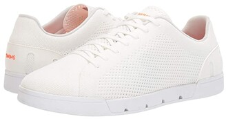 Swims Breeze Tennis Knit Sneakers (White) Men's Shoes