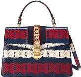 Gucci Sylvie medium printed top handle bag
