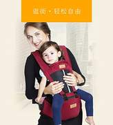 BAODELI Cotton Baby Carrier Backpack with Hip Seat for Infant, Child, Toddler- All Seasons 360 Ergonomic Baby Carrier - 6 Position Child Carrier - Black