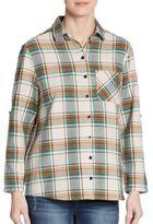 C&C California Grace Plaid Shirt