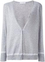 Fabiana Filippi contrast cardigan - women - Polyamide/Polyester/Viscose/Cashmere - 42