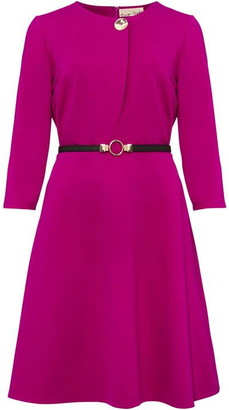Phase Eight Romina Belted Swing Ponte Dress