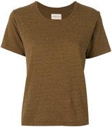 Simon Miller classic T-shirt - women - Silk/Cotton - 0