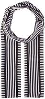 MICHAEL Michael Kors Corsican Stripe Long Skinny Scarf Scarves