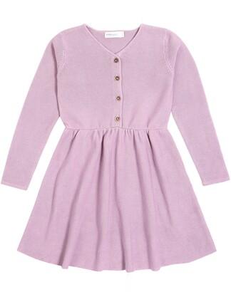 Miles Button Front Knit Dress