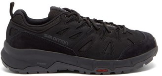 Salomon Odyssey Advanced Leather Trainers - Black