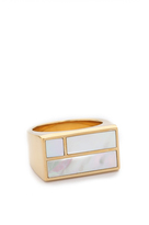 Aurelie Bidermann Bianca Square Ring