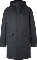 A.p.c. - Padded Hooded Cotton-blend Parka