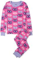 Hatley Girl's Silly Kitties Pajama Set
