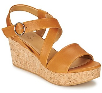 Coclico MEL women's Sandals in Brown