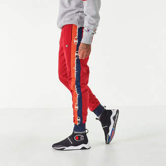 Champion Men's Tricot Taping Track Pants