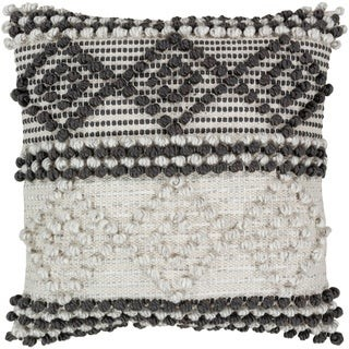 Overstock Vesta Bohemian 22-inch Poly or Feather Down Filled Throw Pillow