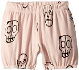 Nununu Skull Mask Yoga Shorts Girl's Shorts