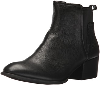 Kenneth Cole New York Women's Artie Pull On Ankle Bootie Low Heel Leather