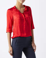 Monsoon Beatrise Frill Neck Top