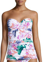 Tommy Bahama Orchid Canopy Tropical Tankini Swim Top