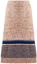 See by Chloe textured knit midi skirt