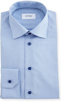 Eton Slim-Fit Grid-Check Dress Shirt