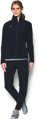 Under Armour Women's UA Squad Woven Full Zip Jacket