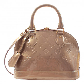 Louis Vuitton Alma BB Beige Patent leather Handbags