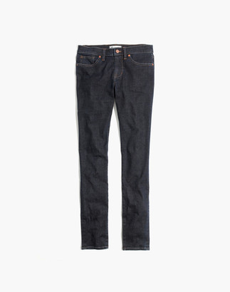 "Madewell Tall 8"" Skinny Jeans in Quincy Wash"