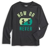 Under Armour Toddler Boy's Now Or Never Graphic T-Shirt
