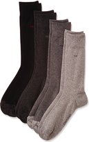 Calvin Klein 4-Pack Flat-Knit Assortment Men's Socks