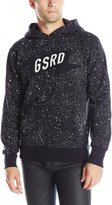 G Star Men's Mikel Hooded Sweatshirt In Splatter Vancouver Sweat Mazarine Blue