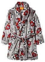 Paw Patrol Toddler Boys Fire Marshall Plush Bathrobe Robe Pajamas (t)