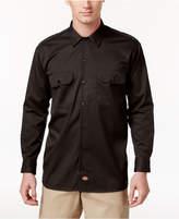Dickies Men's Long Sleeved Twill Work Shirt