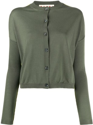 Marni cropped lightweight cardigan