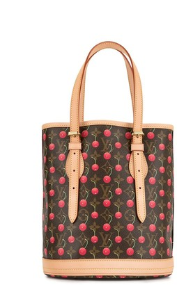 Louis Vuitton x Takashi Murakami pre-owned Cherry Bucket PM tote