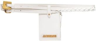 Jacquemus La Double Centre pouch belt