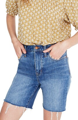 Madewell High-Rise Mid-Length Denim Short