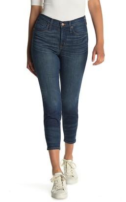 J.Crew Dark Wash High Rise Toothpick Skinny Jeans (Petite)