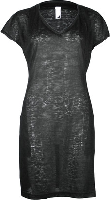 Format ELLI Black Linen Jersey Dress - S - Black