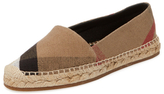 Burberry Classic Check Espadrille