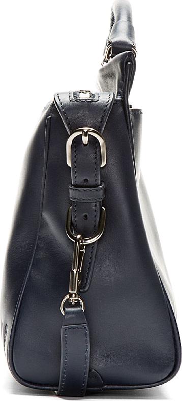 3.1 Phillip Lim Deep Navy Leather Small Ryder Satchel